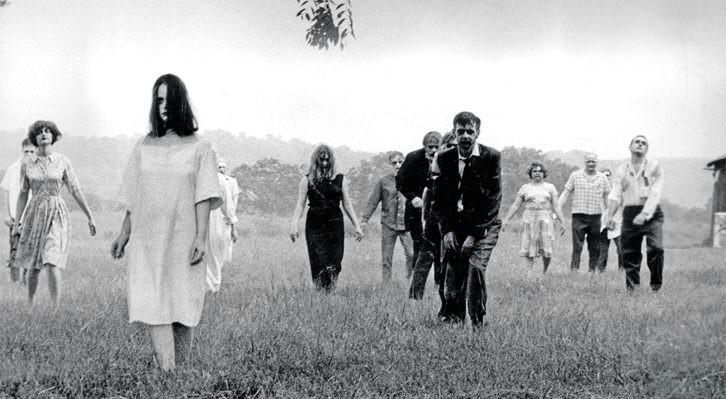 Fotograma de la película 'La noche de los muertos vivientes', de George A. Romero (1968).
