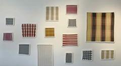 Imagen de diversas obras que forman parte de 'Correspondence', de Ana Esteve Llorens. Fotografía cortesía de la artista.