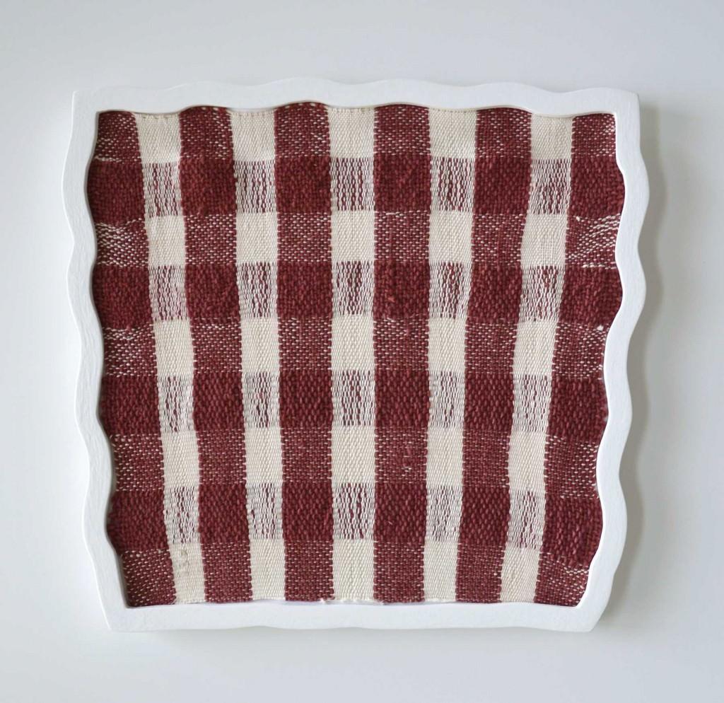 'Untitled (Squares Red), obra que forma parte de 'Correspondence', de Ana Esteve Llorens. Fotografía cortesía de la artista.