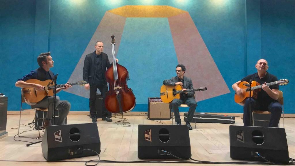 Ballester, Biel -Trio & Rosenberg, Stochelo. Imagen cortesía de la UPV.