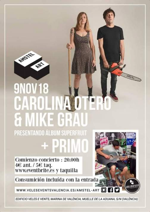 Carolina Otero y Mike Grau 3