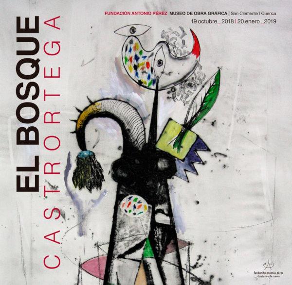 Portada de 'El Bosque' Imagen cortesía de la Fundación Antonio Perez.