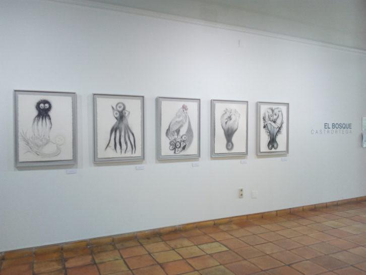 Imagen de la exposición temporal 'El Bosque'. Cortesía de la Fundación Antonio Pérez.