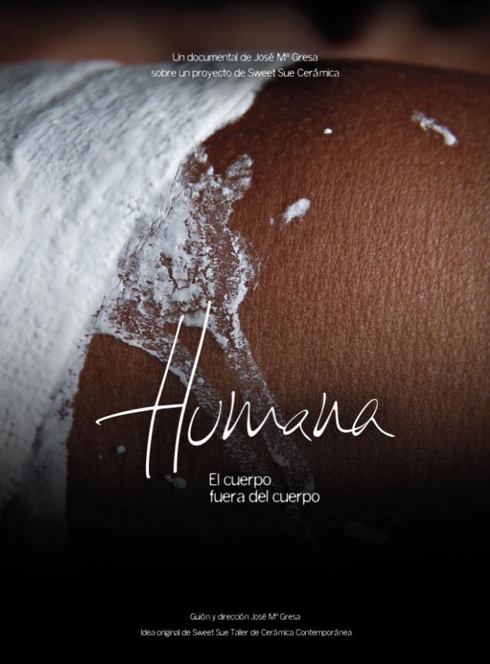 Cartel del cortometraje 'Humana'. Imagen cortesía de Cortos por la Igualdad.