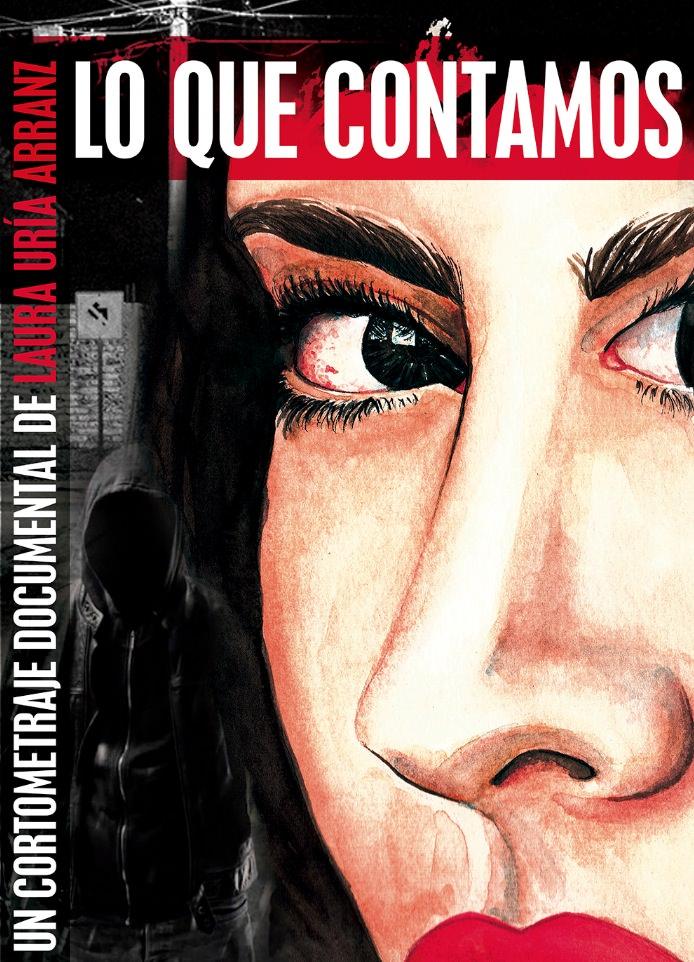 Cartel de 'Lo que contamos'. Imagen cortesía de Cortos por la Igualdad.