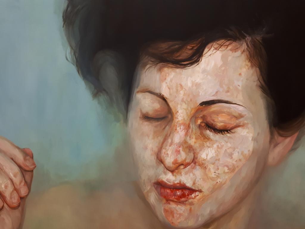 Obra de Marina Puche. Imagen cortesía de la Real Academia de Bellas Artes de San Carlos.