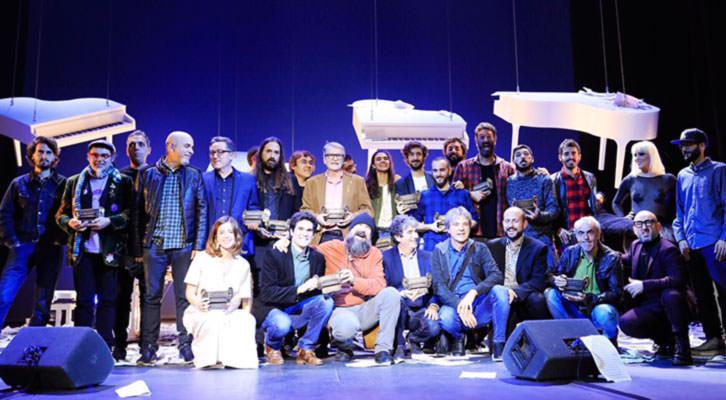 Galardonados de los Premis Carles Santos