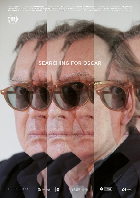 Cartel de la película 'En busca del Oscar', de Octavio Guerra.