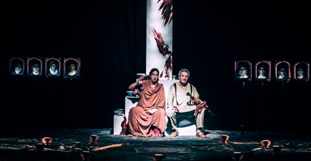 Los últimos paganos. Imagen cortesía de Sala Russafa