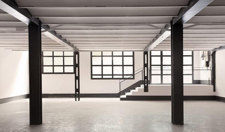 Vista del interior de la nueva galería Espai Tactel Toormix por cortesía de sus responsables.