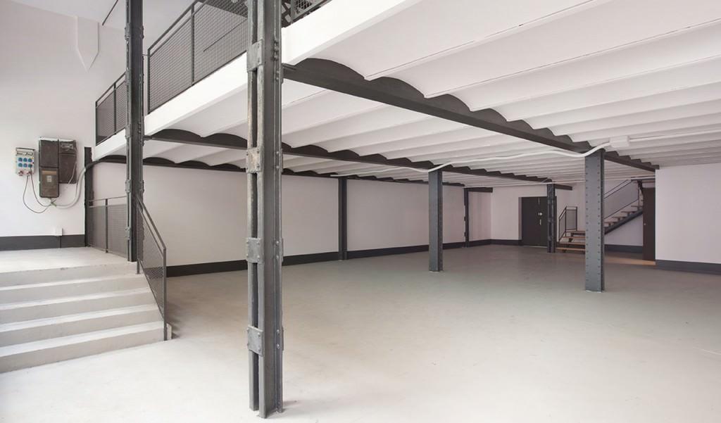 Interior de Espai Tactel Toormix por cortesía de la galería.