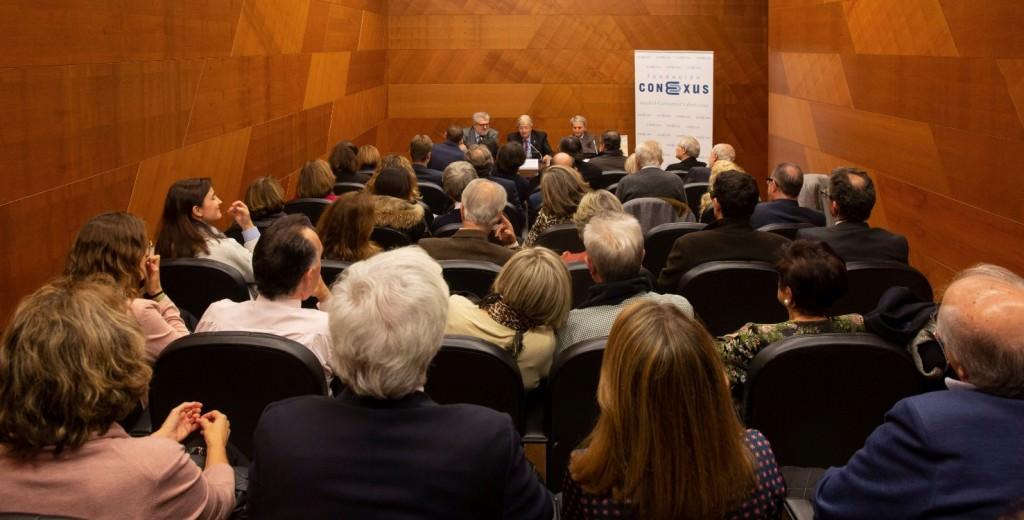 Presentación del libro 'Historia del Arte de la Comunidad Valenciana', de Felipe Garín. Imagen cortesía de la Fundación Conexus.