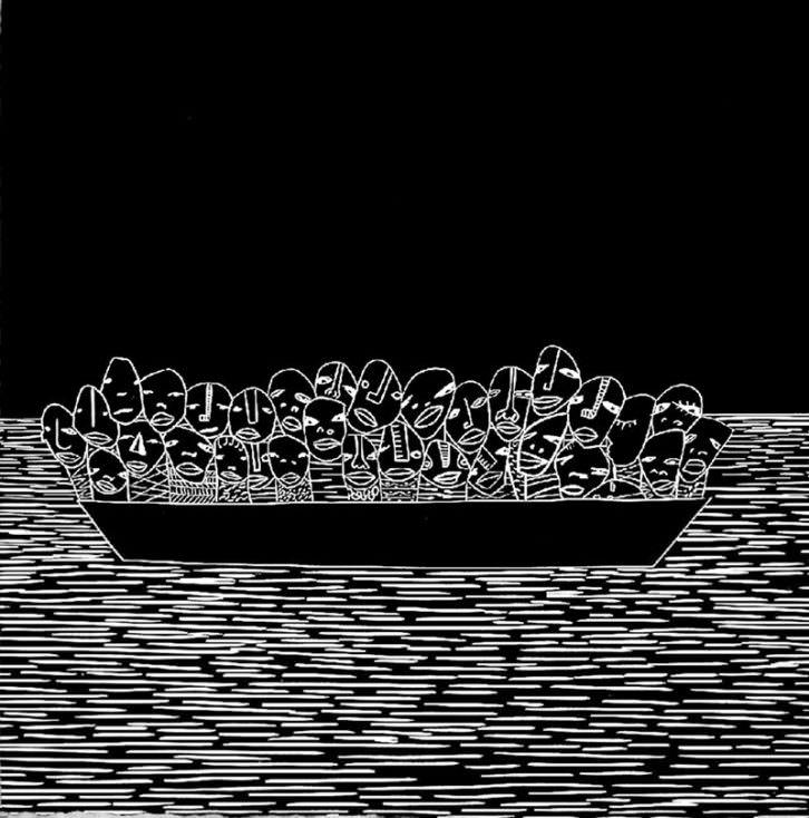 A la deriva, de Moisés Yagües. Imagen cortesía del autor.