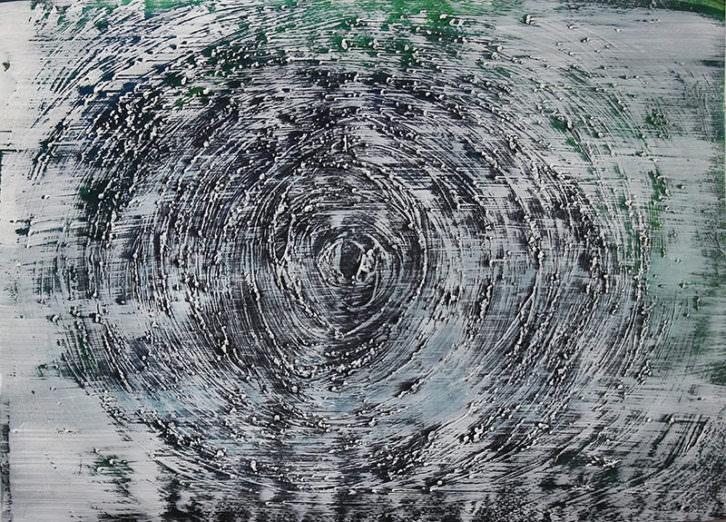 Einöde, obra de Iñaki Torres, para la portada de la novela 'Odds'. Imagen cortesía del autor.