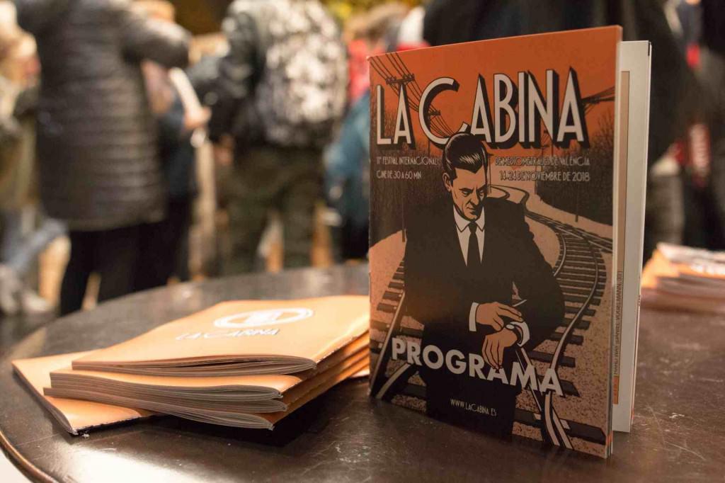 Detalle del cartel de La Cabina. Foto de Pedro Castelo por cortesía del festival.