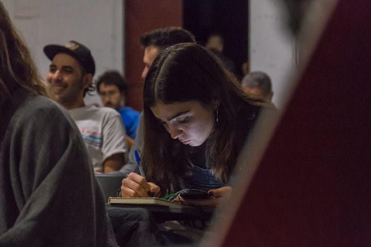 Público asistente a una de las sesiones del festival. Foto de Pedro Castelo por cortesía de La Cabina.