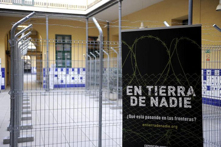 Vista de la exposición 'En tierra de nadie'. Imagen cortesía de La Beneficència.
