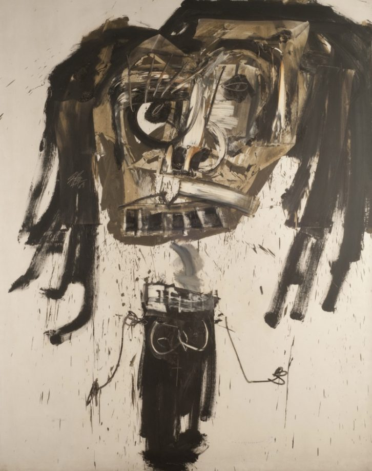 Retrato imaginario de Brigitte Bardot, de Antonio Saura.