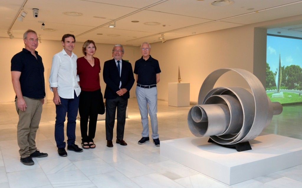 Boye Llorens, hijos de Andreu Alfaro, Rafael Alcón y Tomás Llorens. Imagen cortesía de Fundación Bancaja.