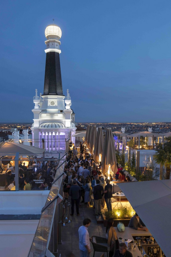 La terraza del ME Madrid acogerá la acción 'sansanonasnas X ME: Pasati di Modena'. Fotografía cortesía de los organizadores.