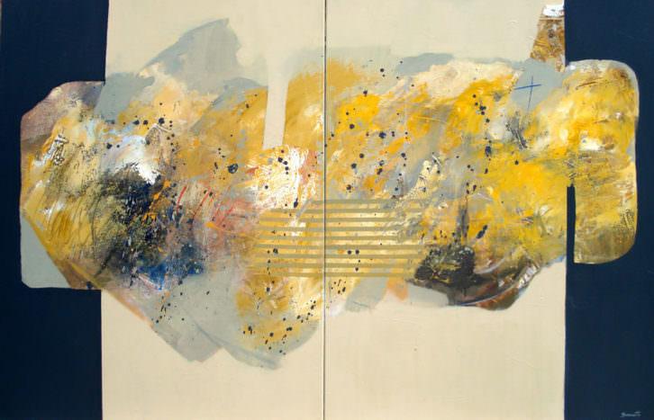 Imagen de la obra 'N9. El silencio', de Carmen Sanzsoto. Fotografía cortesía de Alba Cabrera.