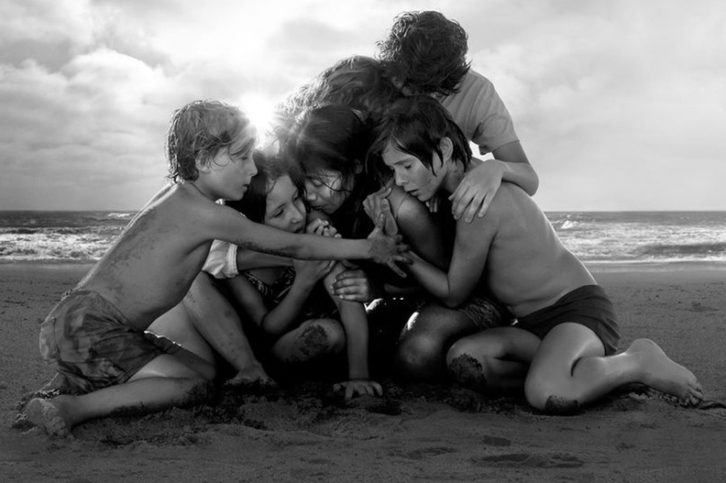 Fotograma de 'Roma', de Alfonso Cuarón.