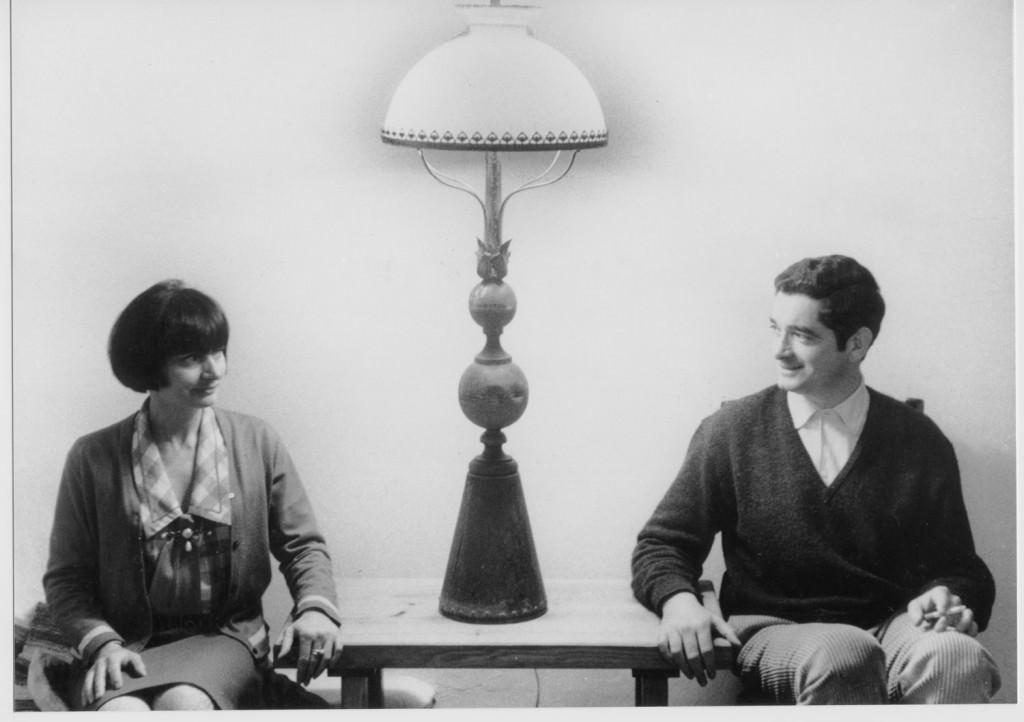 Agnès Varda y Jacques Demy. Imagen cortesía de Filmoteca de Valencia.