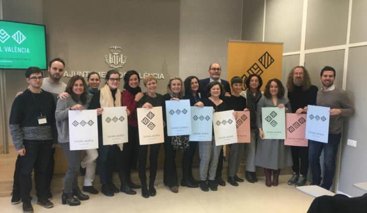 Un instante de la presentación de Cultural València en el ayuntamiento de la ciudad. Fotografía cortesía de los organizadores.