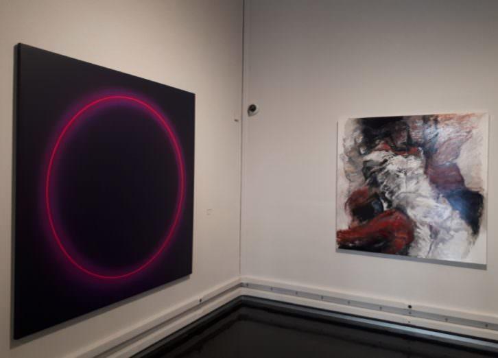 Vista de la exposición 'De ayer a hoy', en La Nau.