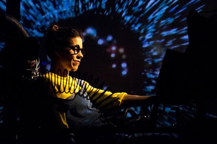 Anna i la màquina del temps. Imagen cortesía del Teatro Escalante.