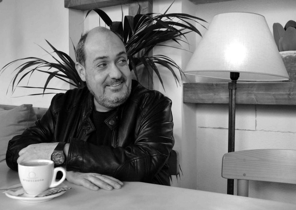 Carlos Domingo. Fotografía de Merche Medina.