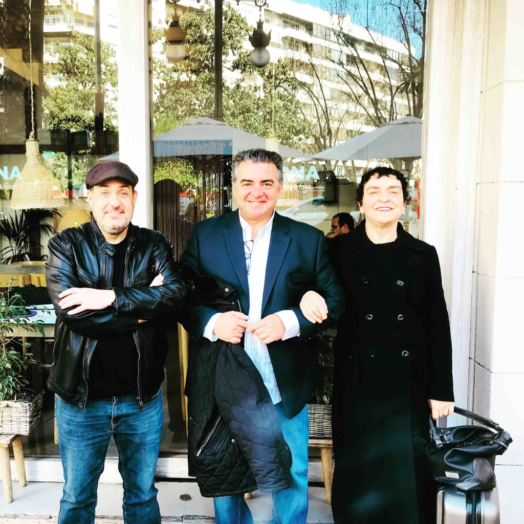 De izquierda a derecha, Carlos Domingo, Nacho Agrait y Mavi Escamilla. Fotografía de Jose Ramón Alarcón.
