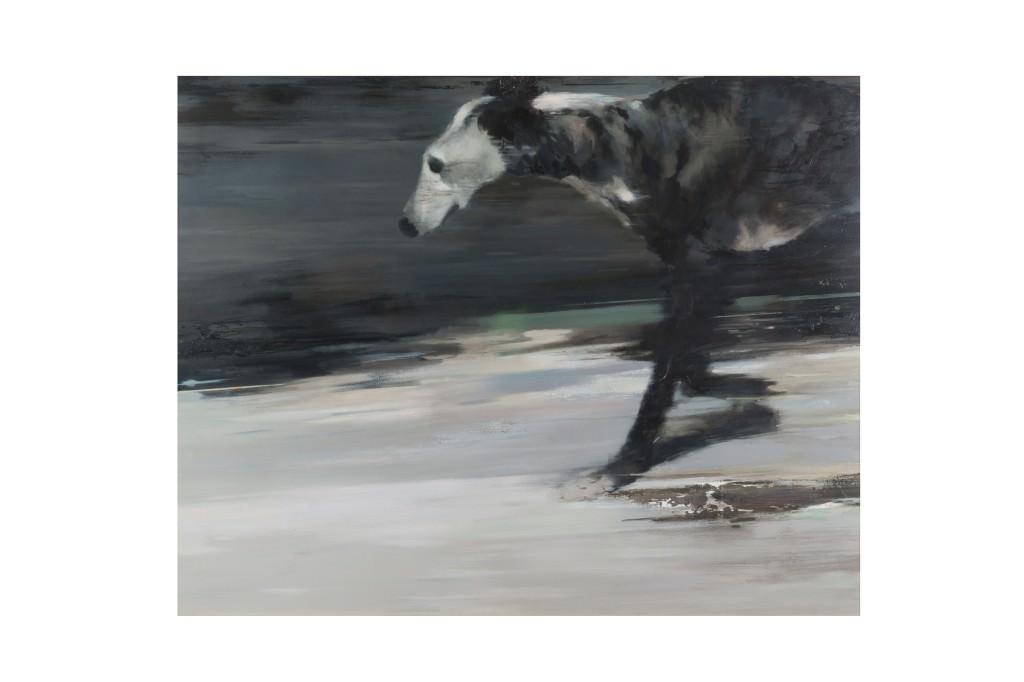 Obra de Isidoro Moreno. Imagen cortesía del Premio de Pintura Ciutat d'Algemesí.