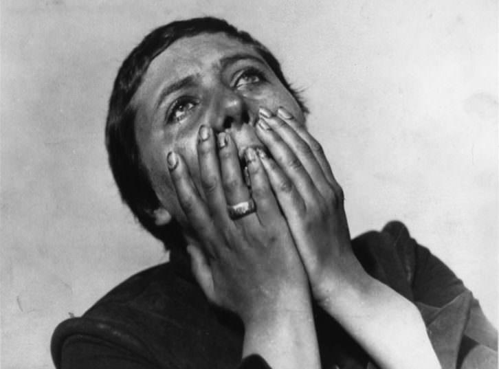 Fotograma de 'La pasión de Juana de Arco', de Dreyer. Imagen cortesía de Filmoteca.