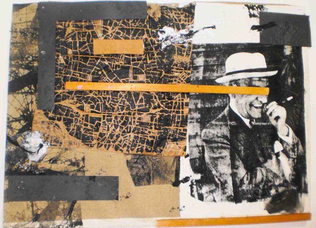 Imagen de la obra 'Ortega en Valencia', de José Pla. Fotografía cortesía del Museo del Ruso.