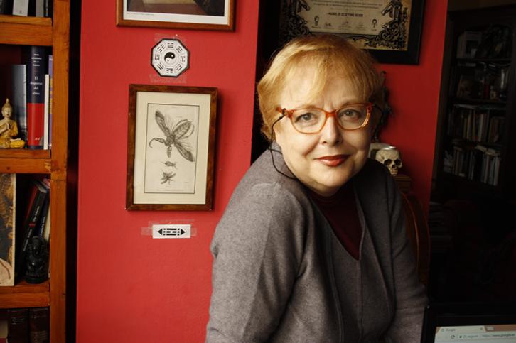 Pilar Pedraza. Imagen cortesía del autor.