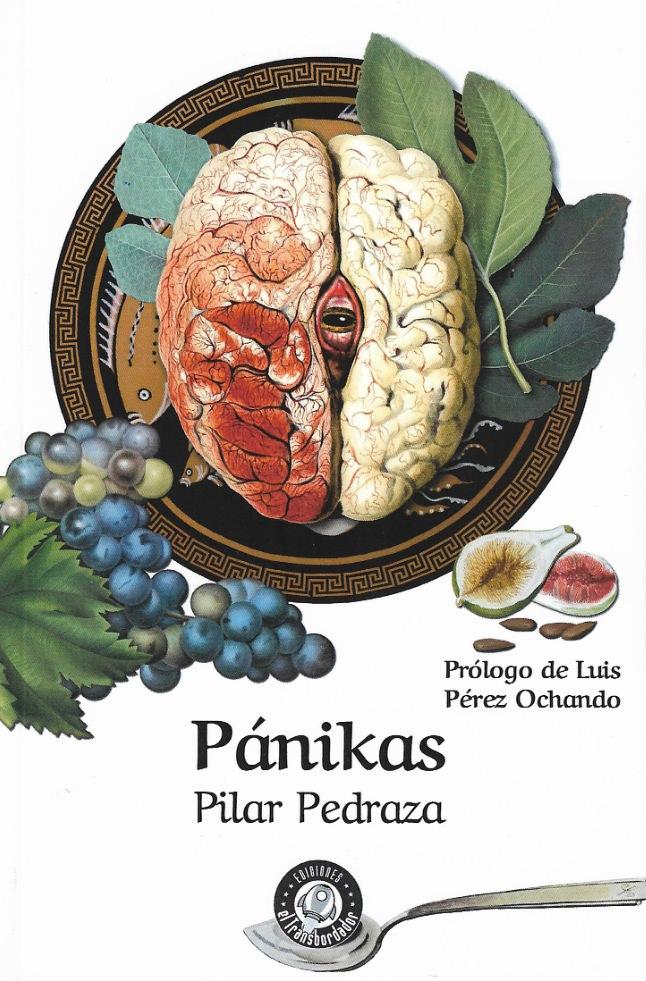 Portada del libro 'Pánika', de Pilar Pedraza.