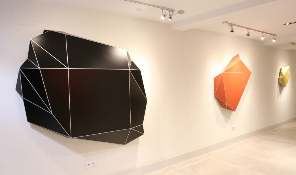 Vista de la exposición de Toño Barreiro. Imagen cortesía de Shiras.