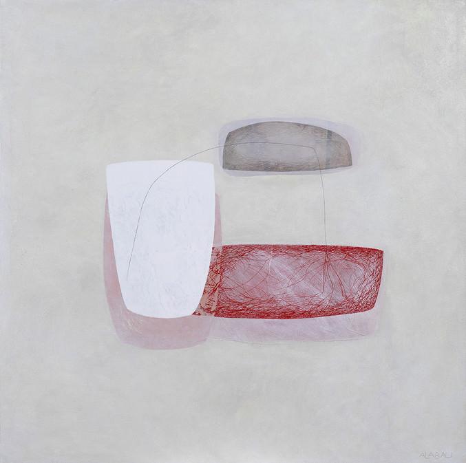Imagen de la obra 'Espacio interior', de Cristina Alabau, que podrá contemplarse en el stand de la Galería Alba Cabrera durante Art Madrid'19. Fotografía cortesía de la galería.