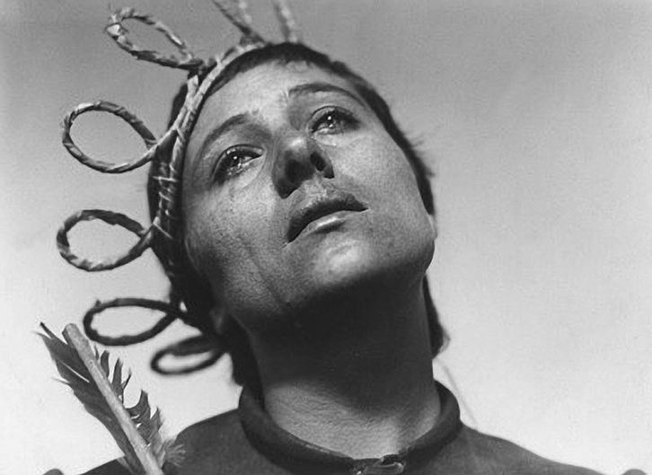 La pasión de Juana de Arco. Imagen cortesía de Filmoteca.