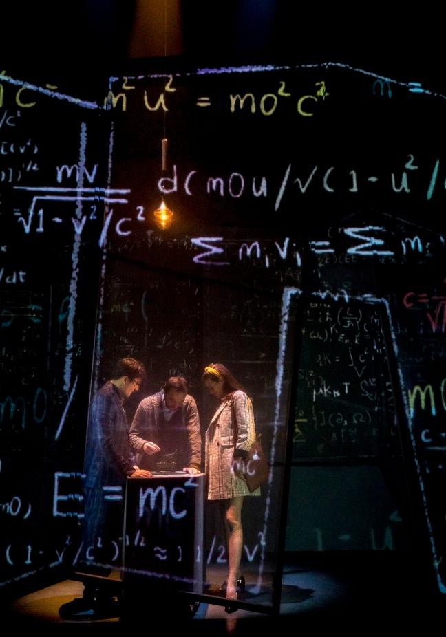 Anna i la máquina del temps. Imagen cortesía del Teatro Escalante