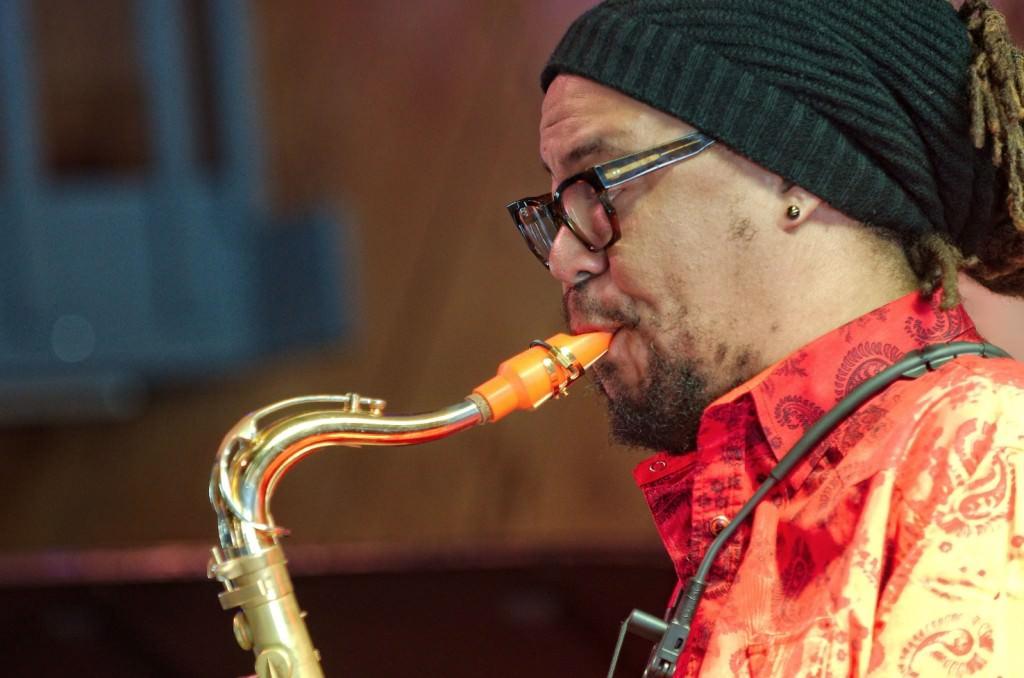 El saxofonista Dayan Stephens. Foto de por cortesía de Jimmy Glass.