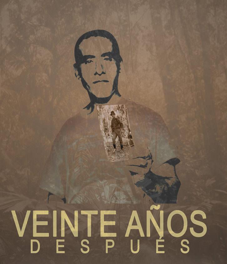 Cartel de '20 años después'. Imagen cortesía de la SGAE Valencia.