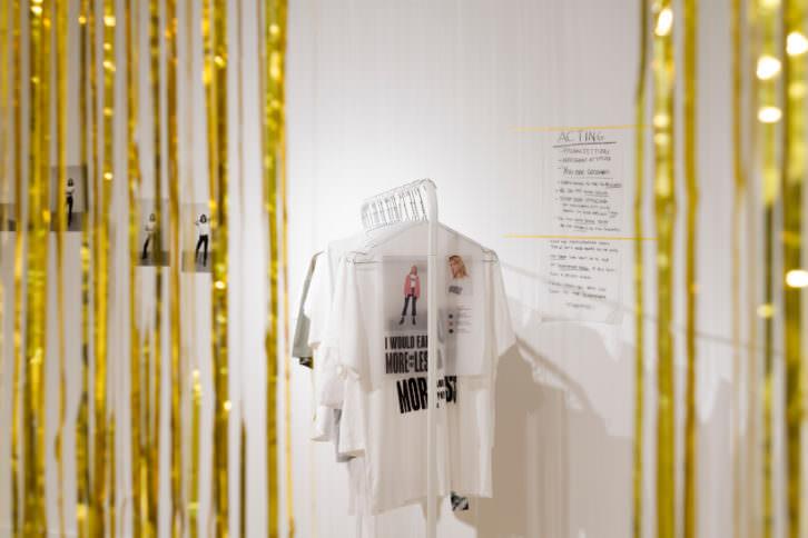 Exposición 'Edits' de Laura Palau. Fotografía realizada por Marc Ferrer