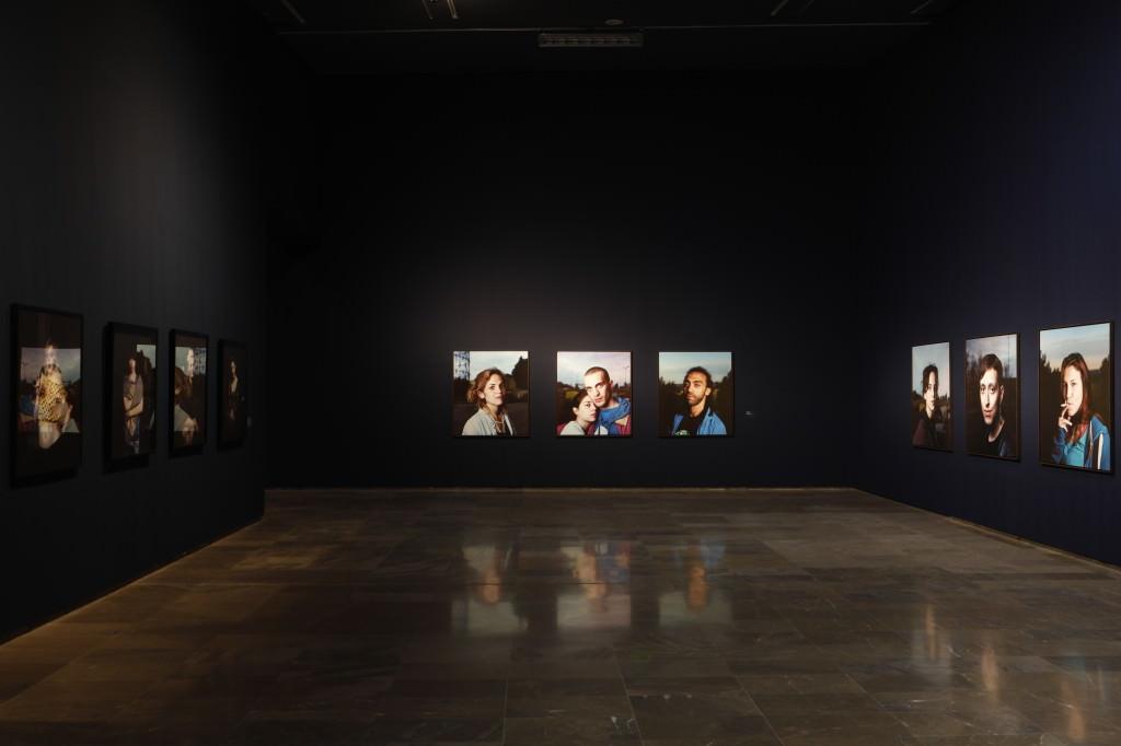Vista de la exposición 'Mil noches y una noche', de Jesús Madriñán. Imagen cortesía del Centre del Carme.