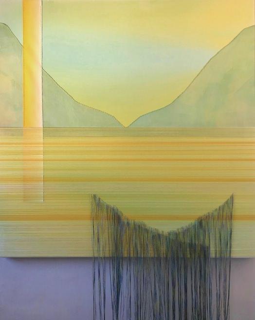 Obra de Mónica Jover. Imagen cortesía de las comisarias de la exposición 'Visibles'.