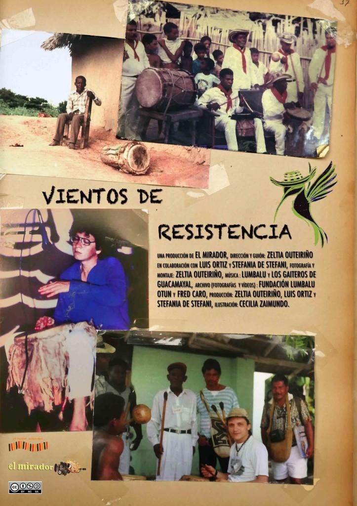 Cartel de 'Vientos de resistencia'. Imagen cortesía de la SGAE Valencia.