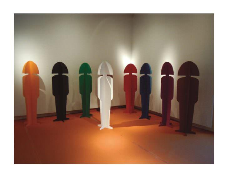 Obra de María Jesús Soler. Imagen cortesía de las comisarias de la exposición 'Visibles'.