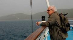 El escritor y periodista Javier Reverte durante un instante del documental 'Imprescindibles: Javier Reverte, el amigo de Ulises', de RTVE.