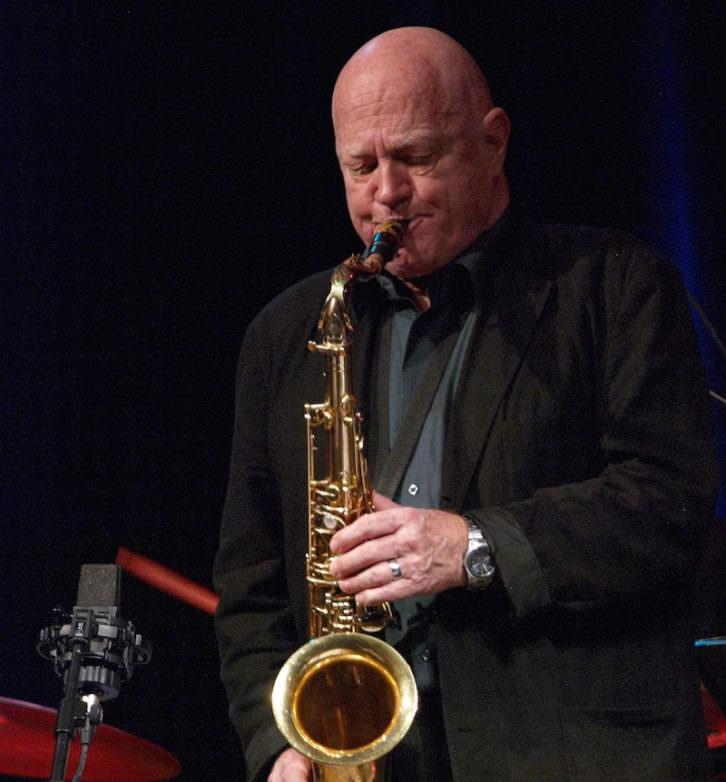 El saxofonista Don Menza. Imagen cortesía de Jimmy Glass.